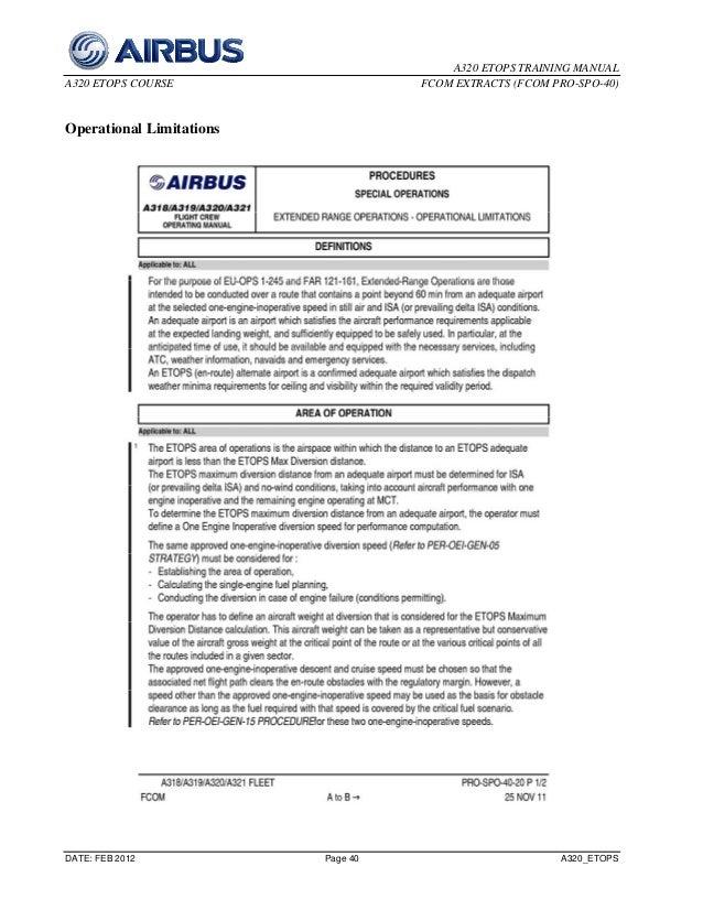 Fcom pdf a320