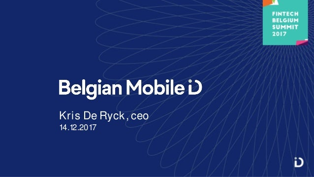 Kris De Ryck, ceo 14.12.2017
