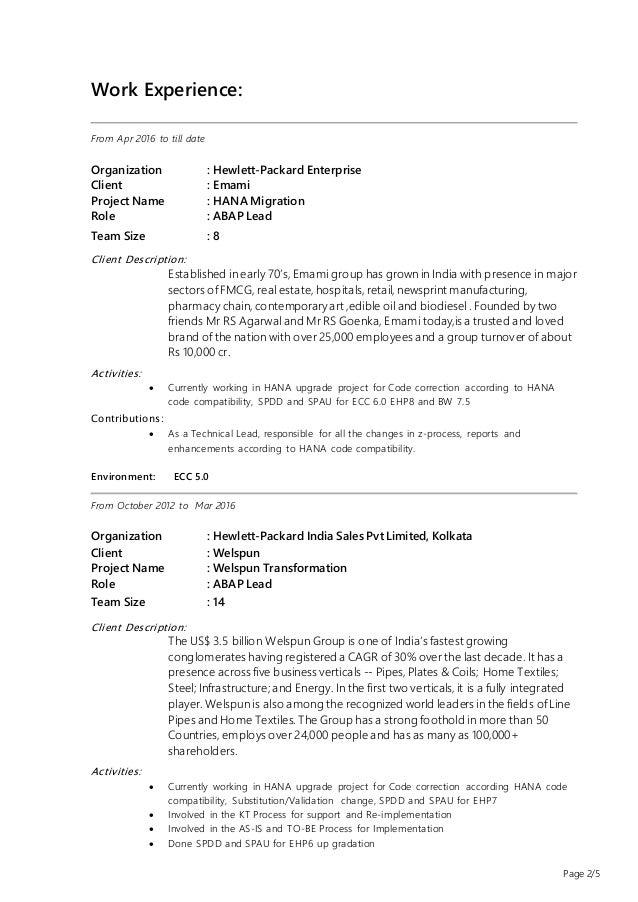 goutam sahoo resume