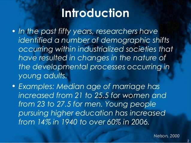 Introduction • In the past fifty years, researchers have identified a number of demographic shifts occurring within indust...