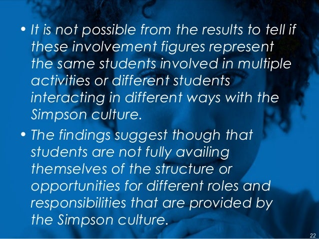 • It is not possible from the results to tell if these involvement figures represent the same students involved in multipl...