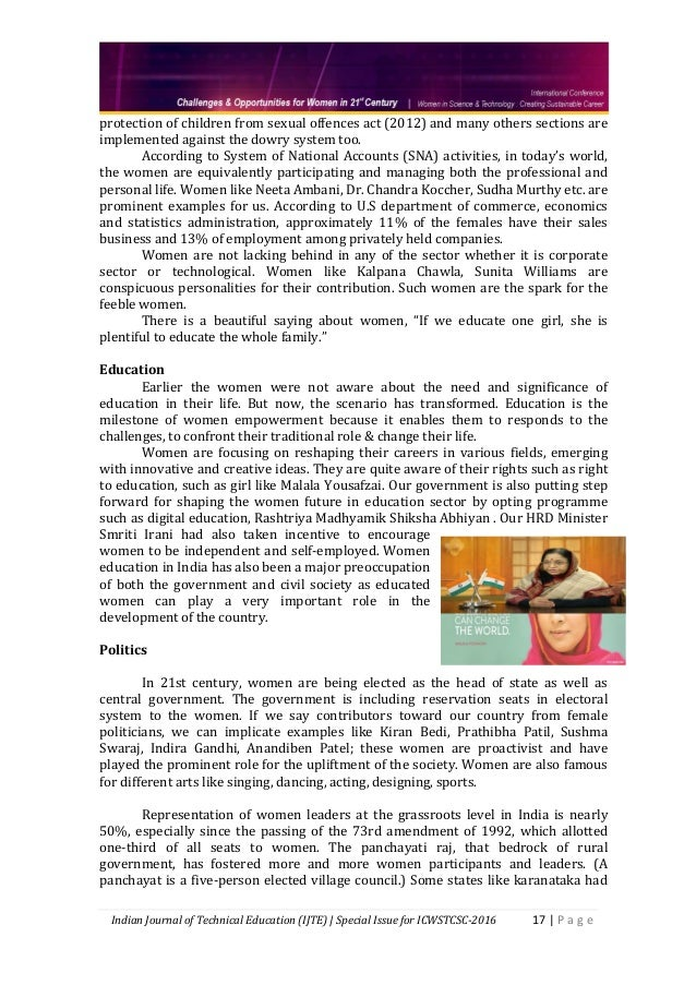 problems faced by women teachers in india 418 perception among women facing problems related to your family life and 42 professional life (in nos) 419 perception among women on financial society has started seeing women in a different perspective they work as lawyers, nurses, doctors, social workers, teachers, secretaries, managers.