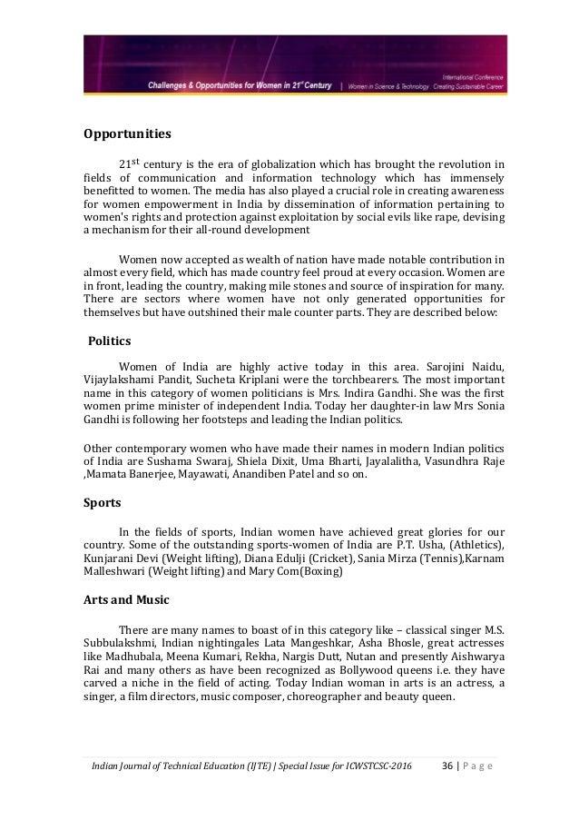 Women empowerment essay database index