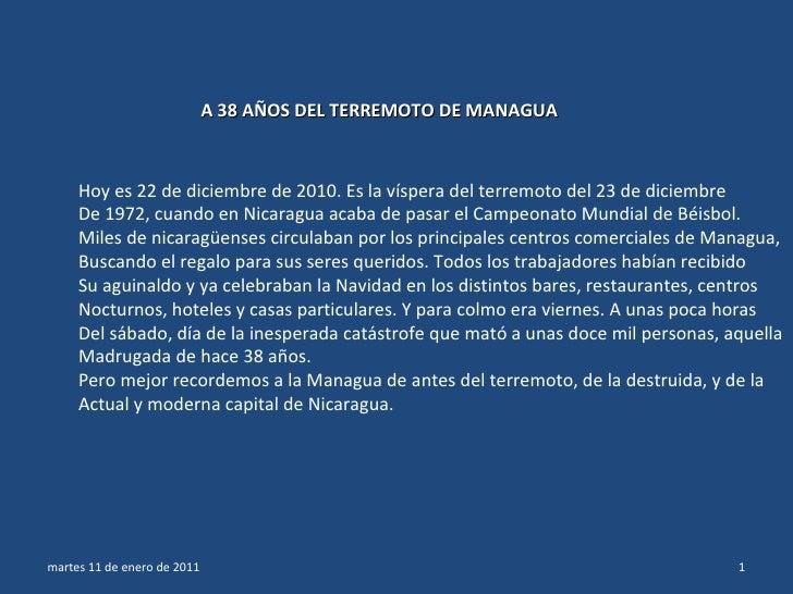 A38 aosdelterremotodemanaguanicaragua