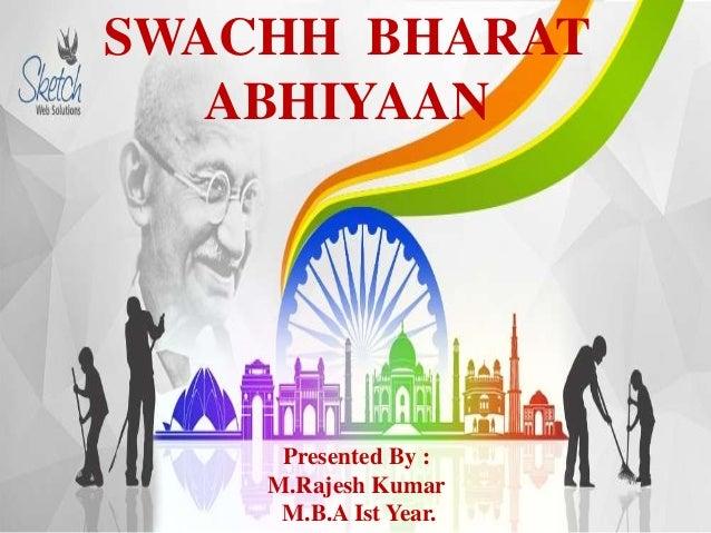 swach bharat ppt