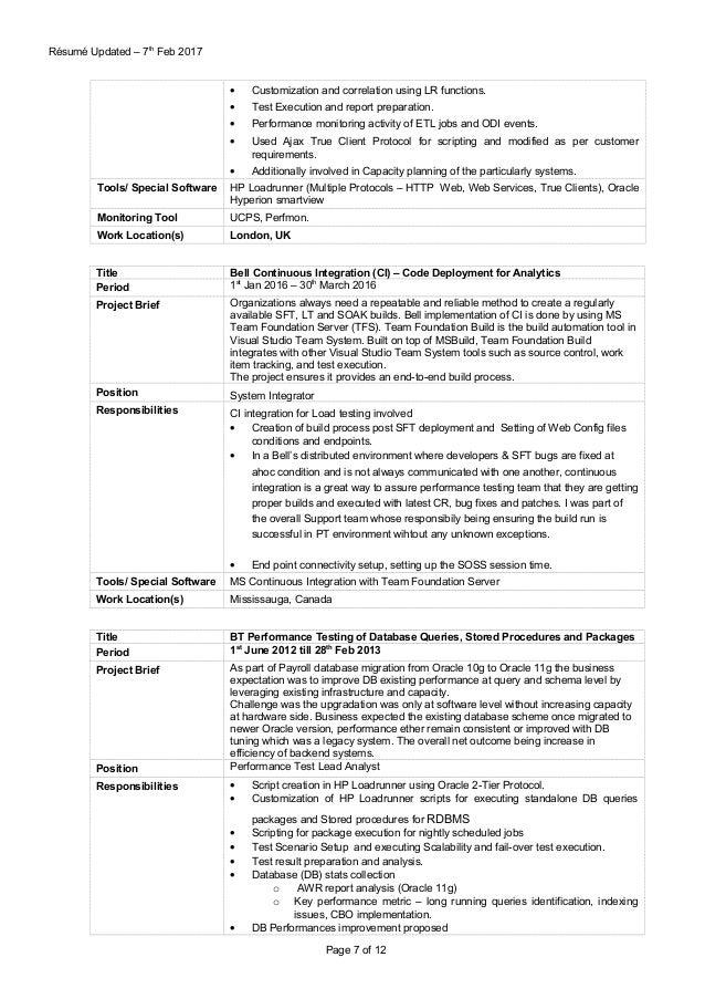 harish srivastava resume