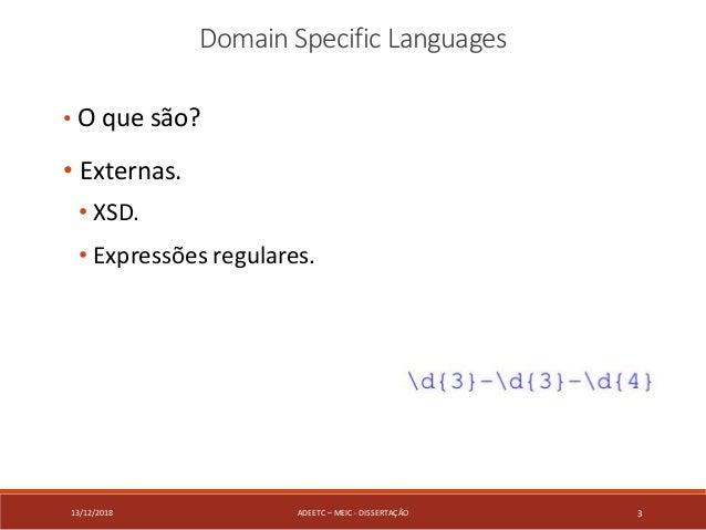 Domain Specific Language generation based on a XML Schema. Slide 3