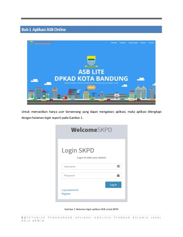 User Manual ASB SKPD