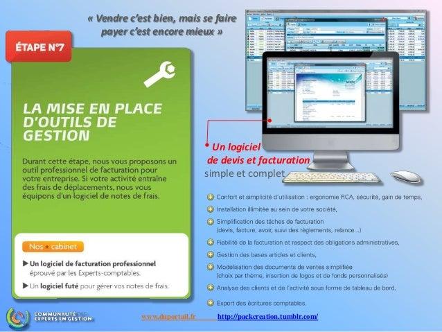 Un logiciel de devis et facturation simple et complet « Vendre c'est bien, mais se faire payer c'est encore mieux » www.du...