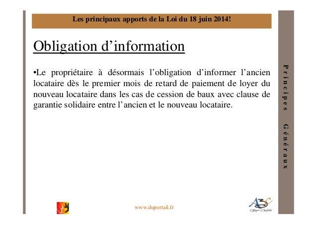 A3c la loi pinel et les baux commerciaux v 2014 01 - Droit du locataire en cas de vente ...