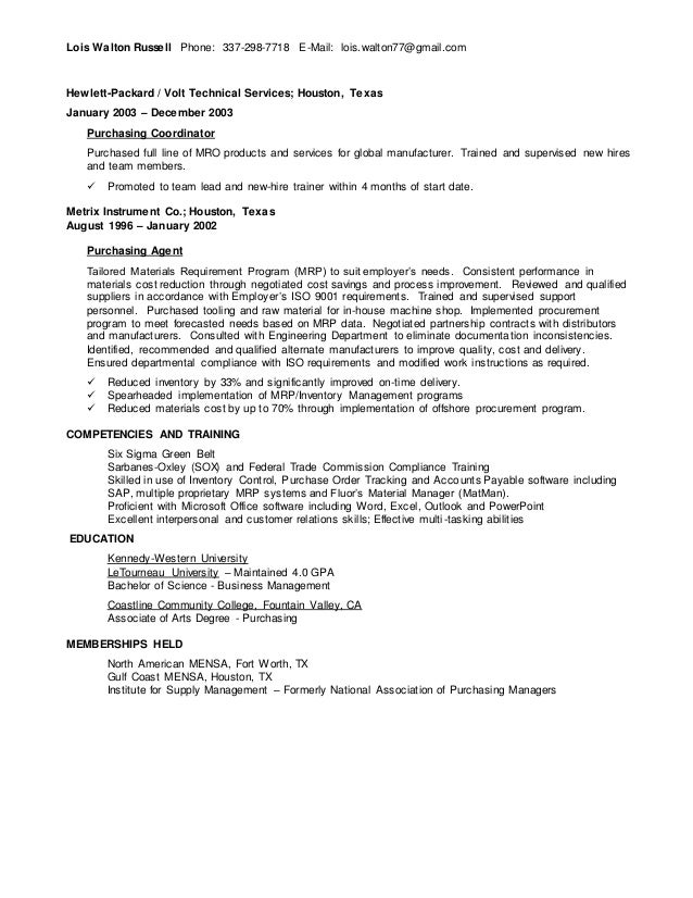 Mensa on a resume