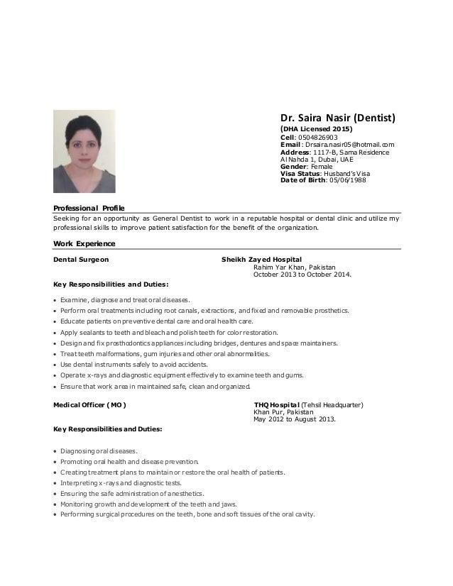 Dr.Saira CV
