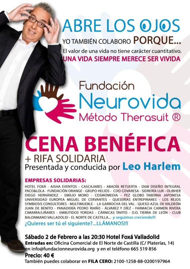 Cena Benéfica - Fundación Neurovida