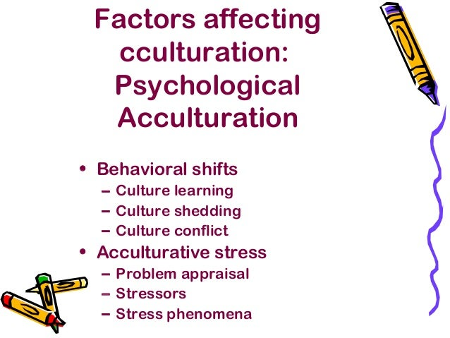 immigration acculturation and acculturative stress Acculturative stress among documented and undocumented latino immigrants in the united states  means and standard deviations for measures of acculturative stress, immigration challenges, and fear of deportation by gender and legal status  surís a acculturation and acculturative stress as predictors of psychological distress and quality.