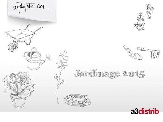 2 Méthodologie ENSEIGNE JARDINAGE, LIBRE SERVICE AGRICOLE MARCHES Jardinage DIFFUSION NAT + REG INDICATEUR M² (UB) PERIODE...