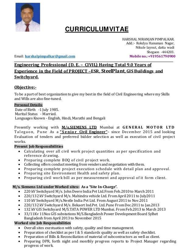 Resume HNP Updated