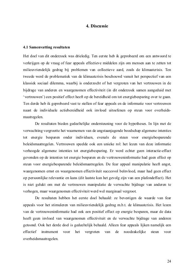 Master thesis kwantitatief onderzoek