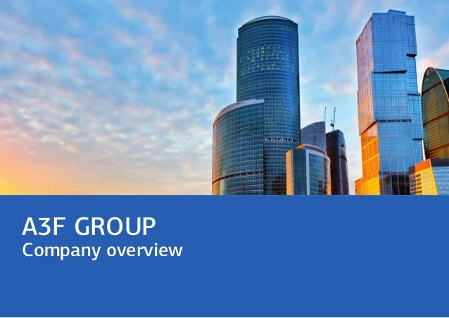 A3F GROUP Company overview