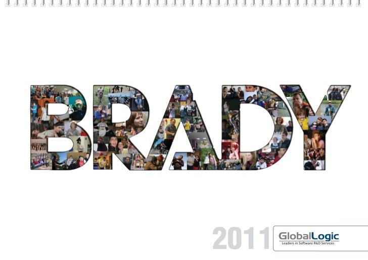 Brady Calendar Slide 1