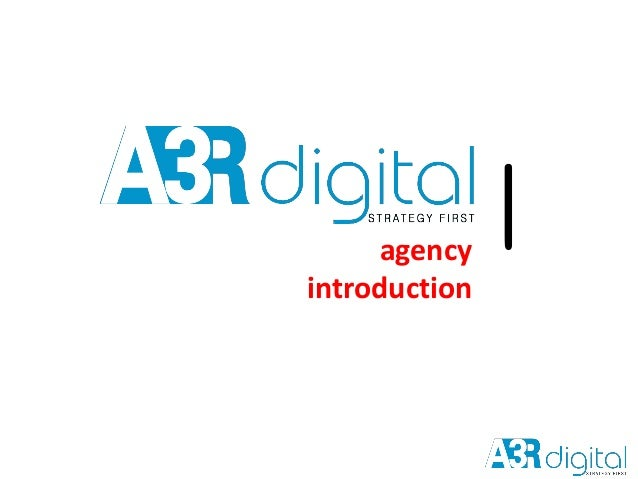 agency introduction |