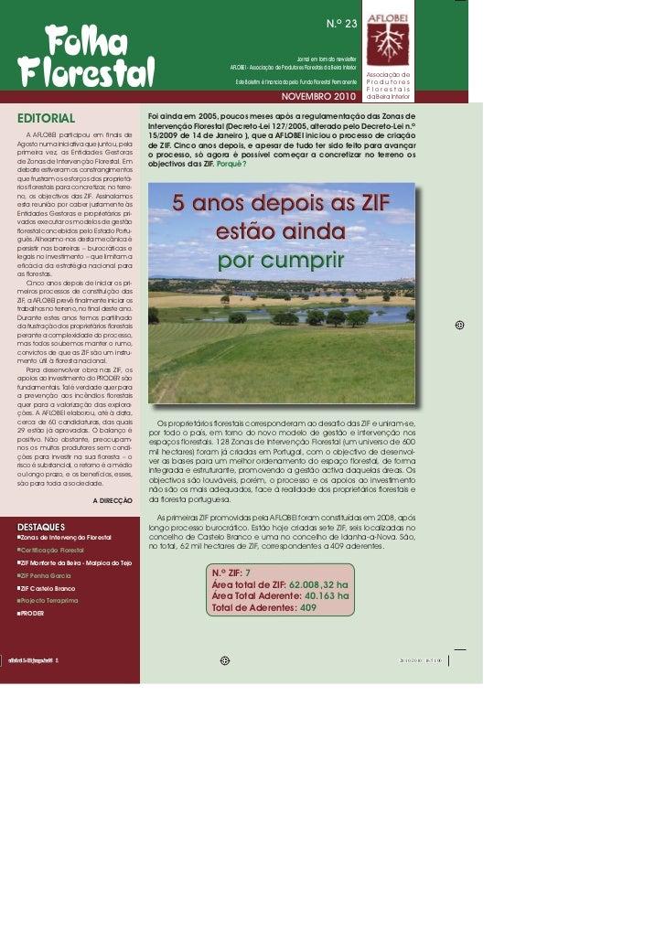 N.º 23                                                                                                    Jornal em format...