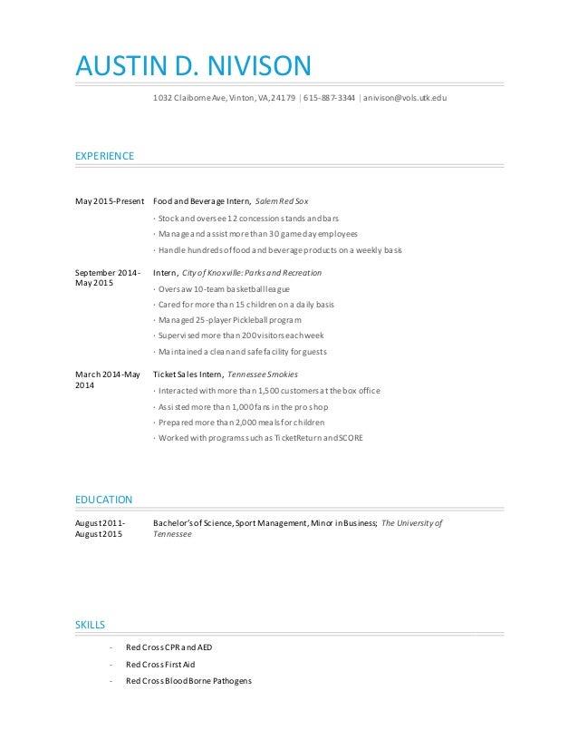 Energy Resume