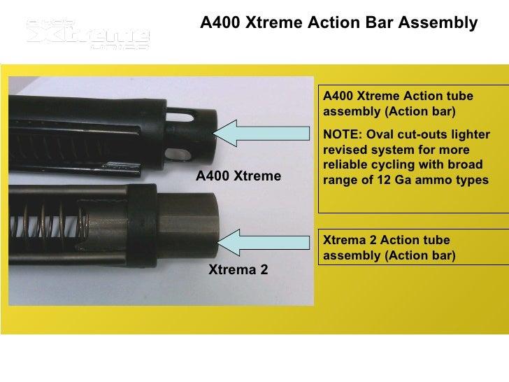 Beretta A400 Xtreme vs Xtrema 2
