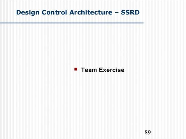 Design Requirements Training
