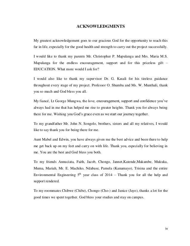 Naomi suwilanji mapulanga 09177382 assessing the carbon footprint o 4 iv acknowledgments pronofoot35fo Images