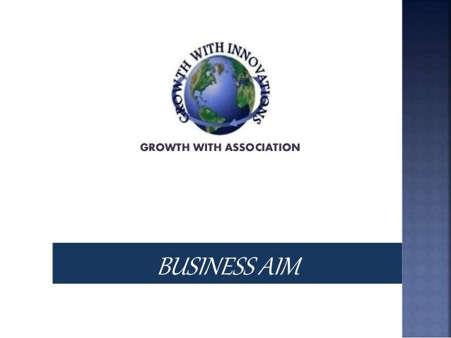 Association business plan