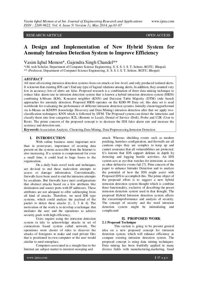 Vasim Iqbal Memon et al Int. Journal of Engineering Research and Applications www.ijera.com ISSN : 2248-9622, Vol. 4, Issu...