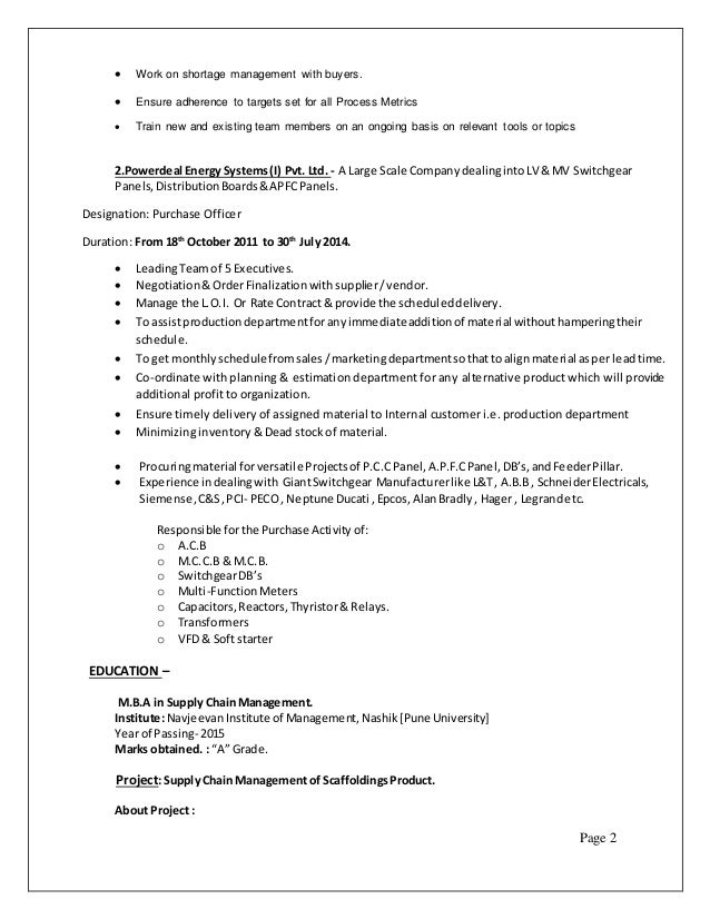 Awesome Peco Energy Resume Pattern - Administrative Officer Cover ...