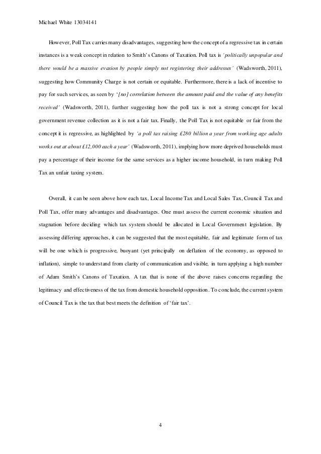 Fair Tax Act Essay Samples - image 8