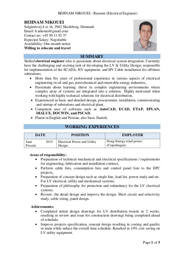 2 Renewable Energy Resume Examples In Amherst.Providing References ...