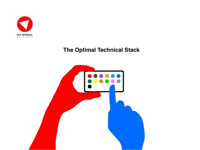 THE OPTIMAL TECH STACK © KeyInterval Research | keyinterval.com | Page 1 About KeyInterval Research KeyInterval is a pract...