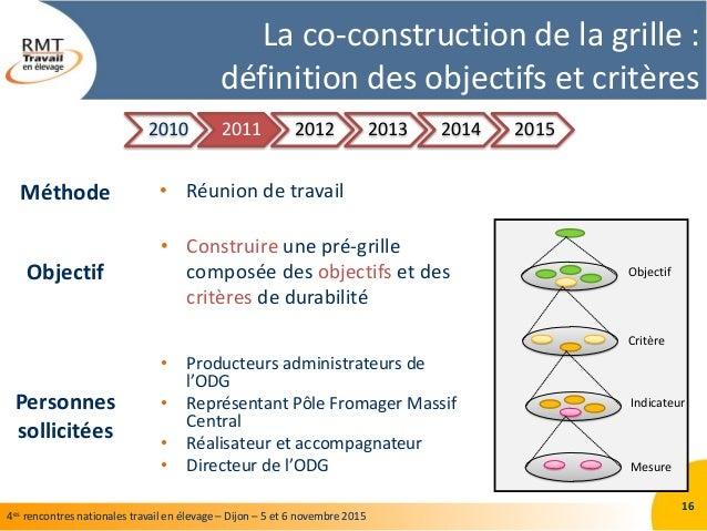 Retour sur la construction et l utilisation d une grille d - Grille indiciaire technicien territorial 2014 ...