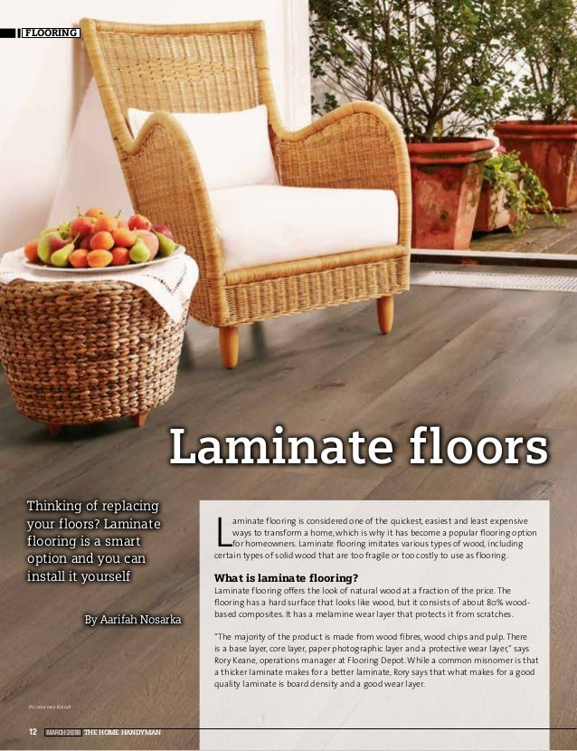 March 2017 The Home Handyman12 Flooring Laminate Floors By Aarifah Nosarka Thinking Of Replacing Your