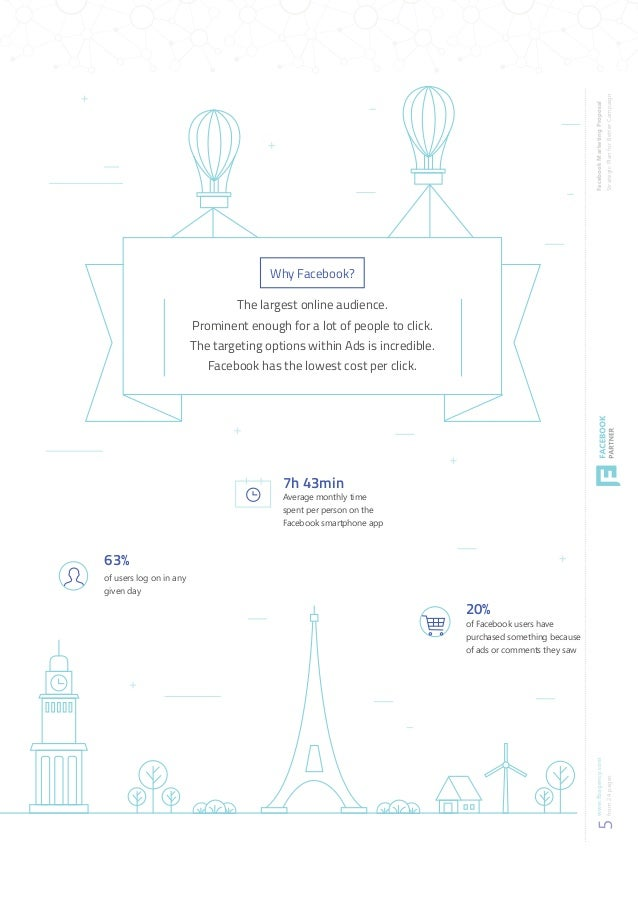 Facebook Marketing Proposal Template Preview - Marketing log template