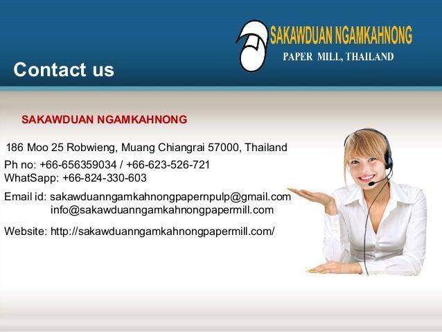 A4 paper manufacturer in thailand