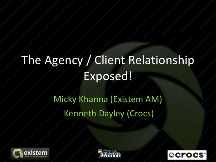 The Agency / Client Relationship Exposed! Micky Khanna (Existem AM)  Kenneth Dayley (Crocs)