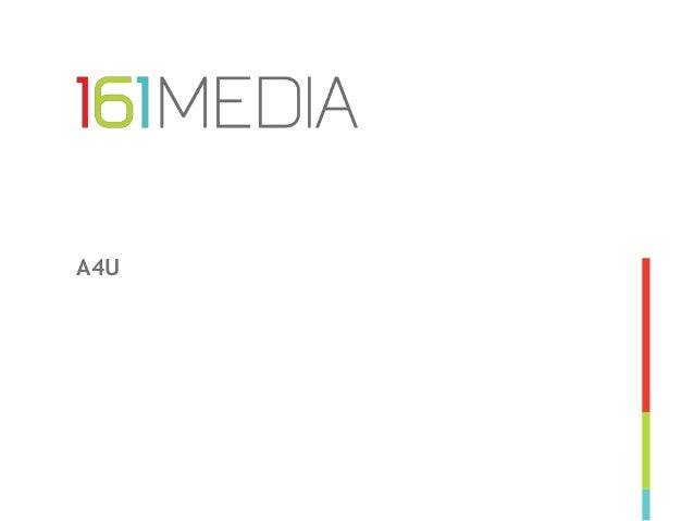 A4U Marco Kloots, CEO 161MEDIA / Platform161