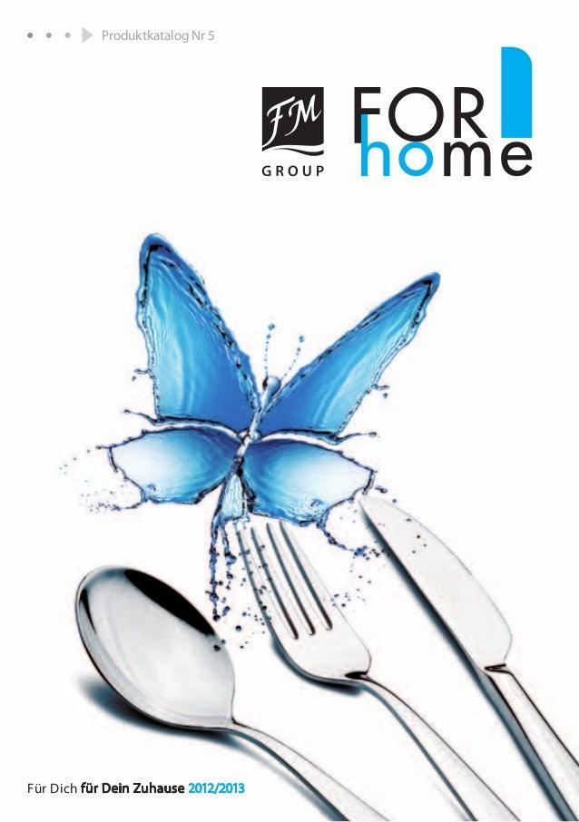 1Für Dich für Dein Zuhause 2012/2013Produktkatalog Nr 5
