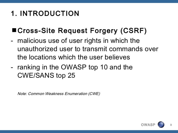 OWASP Serbia - A5 cross-site request forgery Slide 3
