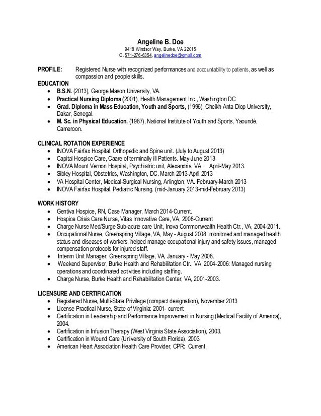 Resume Latest Version