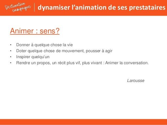 A5 10 concepts pour dynamiser ses prestataires Slide 2