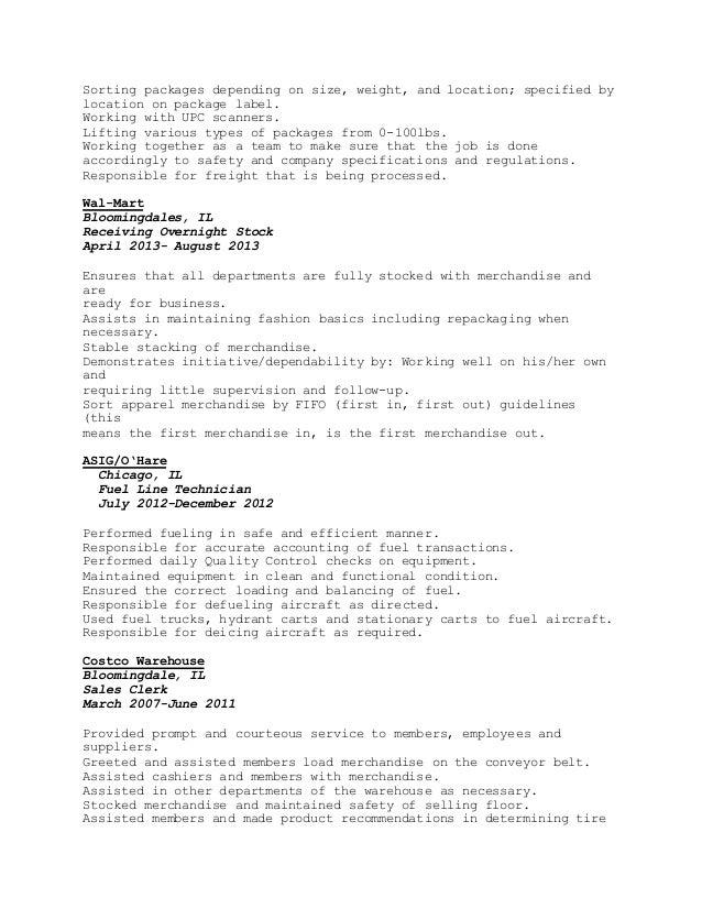 cr resume