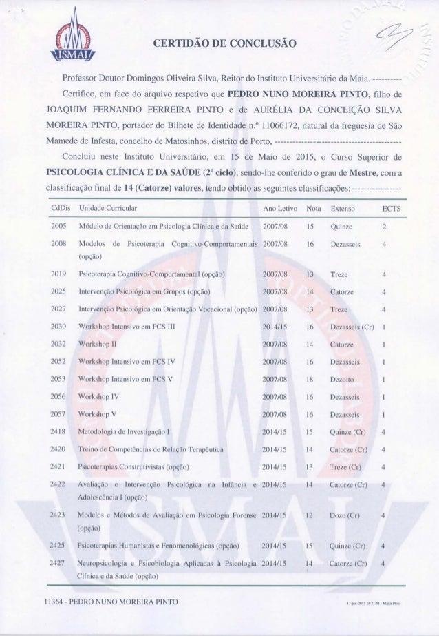 certificado mestrado