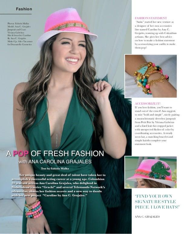 "a4fd9c1c2da Fashion FASHION STATEMENT ""Anita"" started her new venture as a designer of  her own"