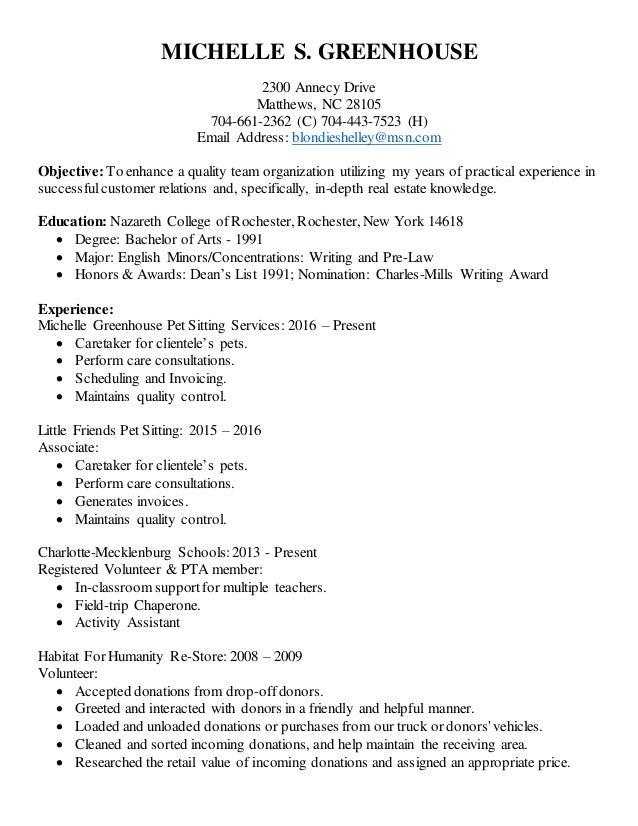 pet sitter resume pet sitter resume uxhandycom pet sitter resume - Pet Sitter Resume