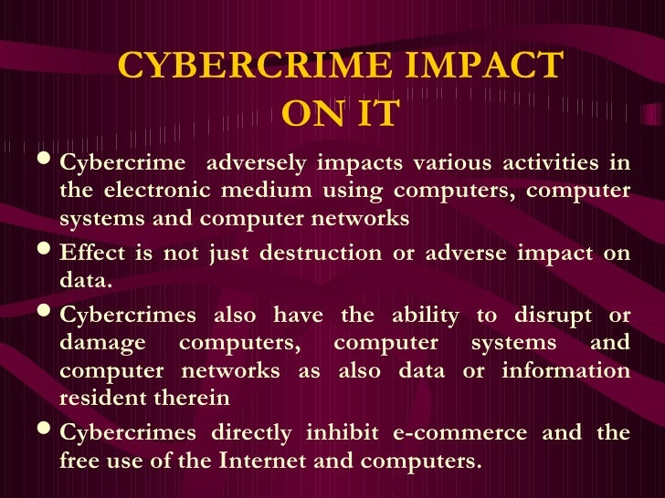 Cybercrimes and due diligence cybercrime impact sciox Images